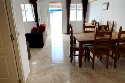 3 Bedrooms Ground Floor Renovated Townhouse For Sale in Torrevieja