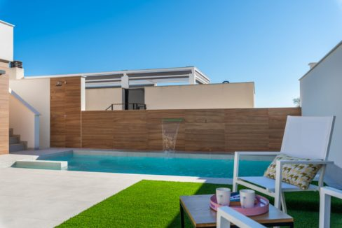 New Build 3 Bedrooms Villa with Basement and Pool For Sale in Ciudad Quesada