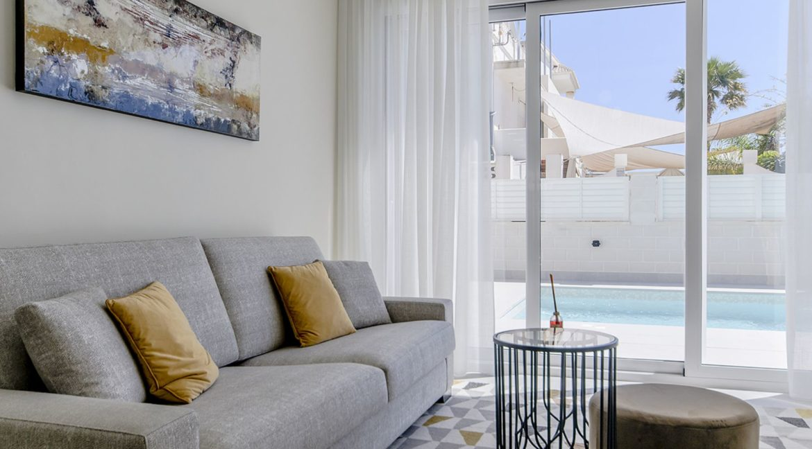 New Build 3 Bedrooms Villas with Basement For Sale in Cabo Cervera - Torrevieja (114)