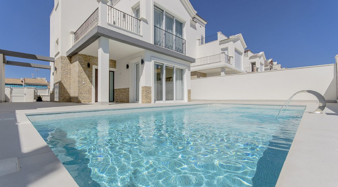New Build 3 Bedrooms Villas with Basement For Sale in Cabo Cervera - Torrevieja (132)