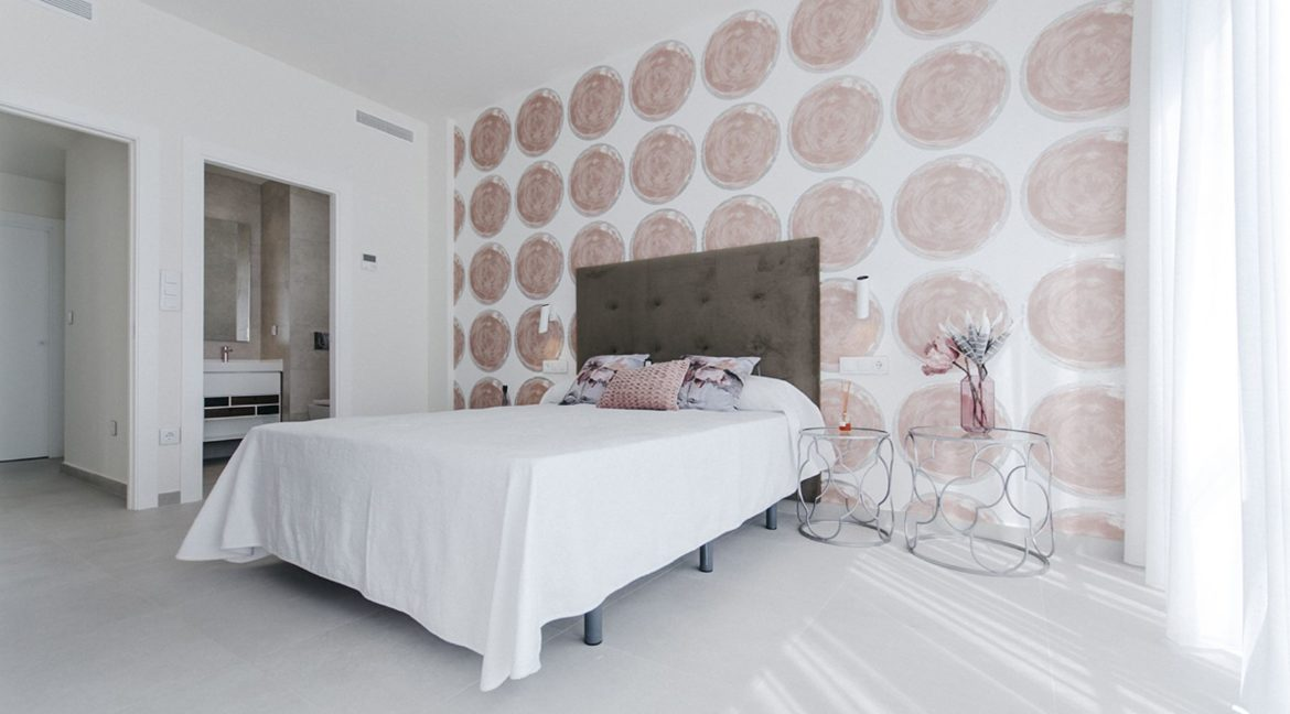 New Build 3 Bedrooms Villas with Basement For Sale in Cabo Cervera - Torrevieja (38)