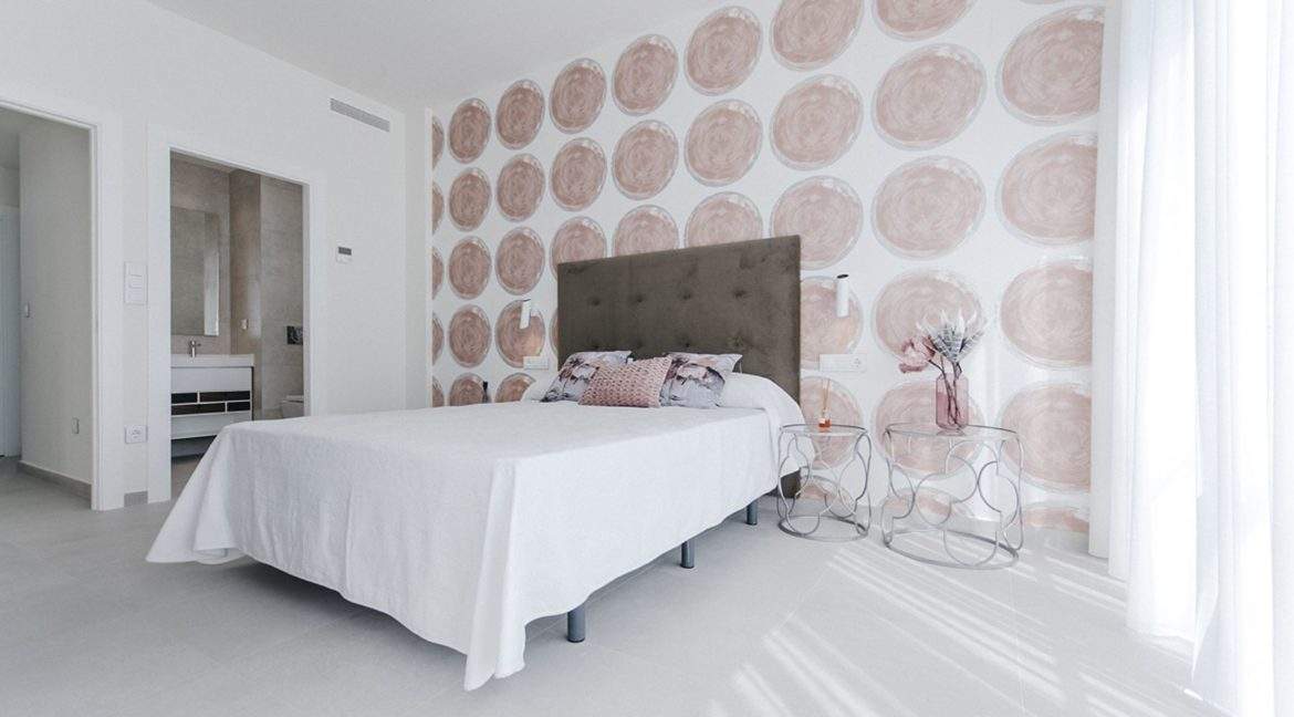 New Build 3 Bedrooms Villas with Basement For Sale in Cabo Cervera - Torrevieja (39)