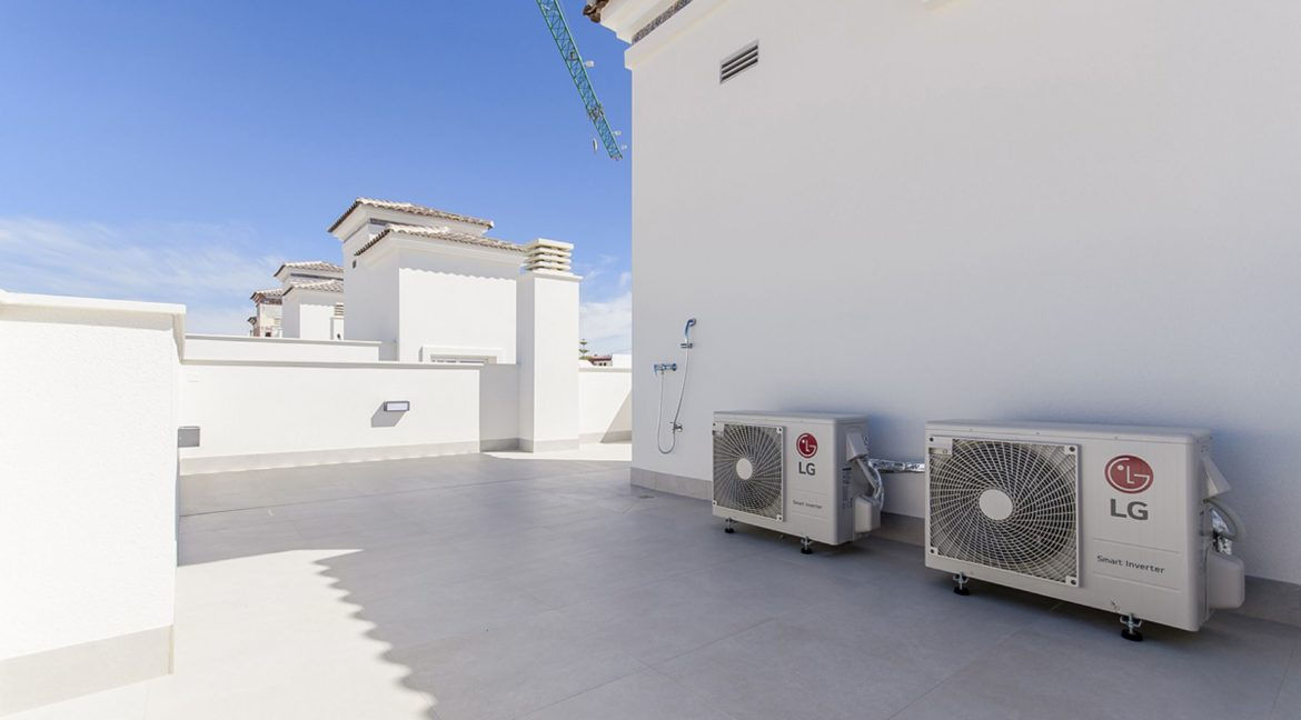 New Build 3 Bedrooms Villas with Basement For Sale in Cabo Cervera - Torrevieja (5)