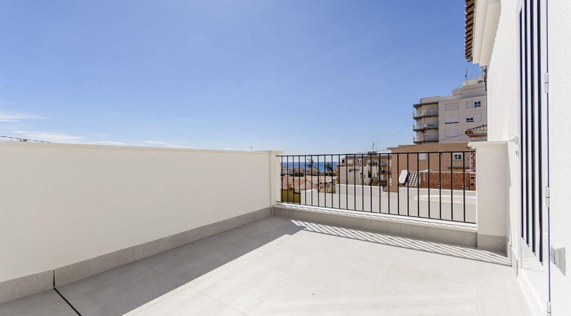 New Build 3 Bedrooms Villas with Basement For Sale in Cabo Cervera - Torrevieja (8)