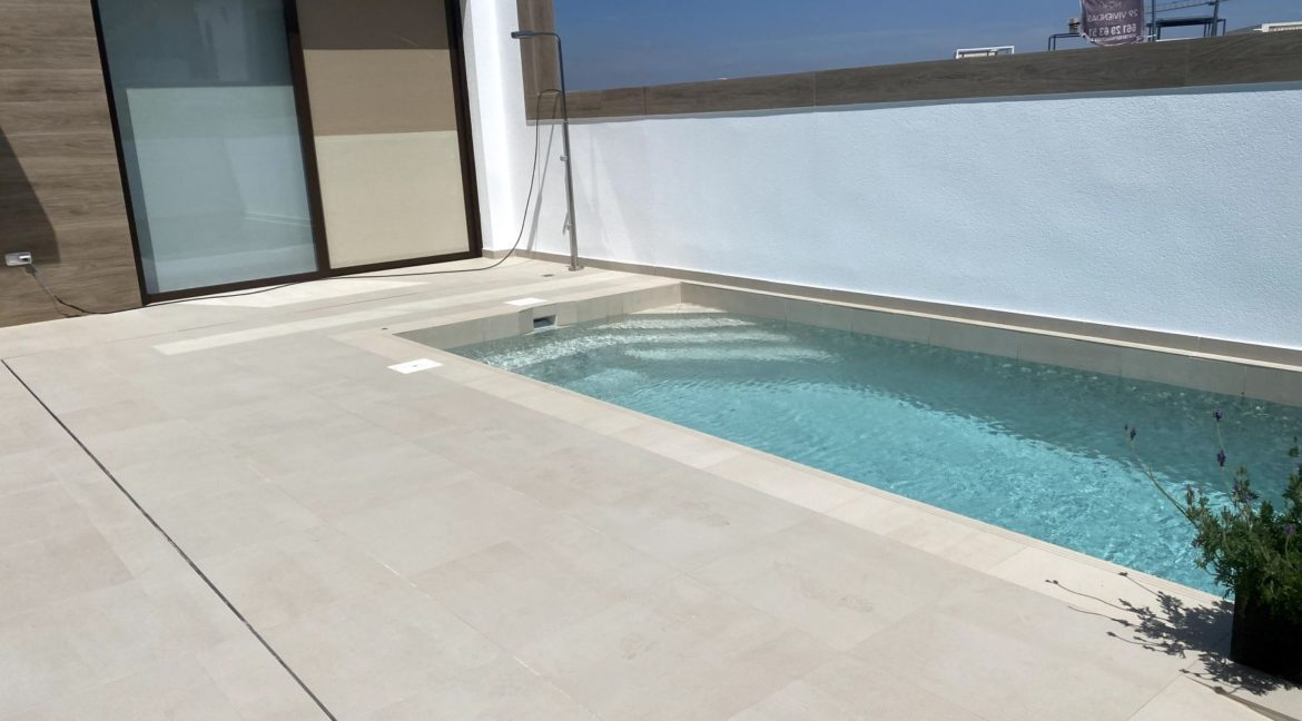 3 Bedrooms New Build Semi-detached with Private Pool For Sale in Benijofar (2)