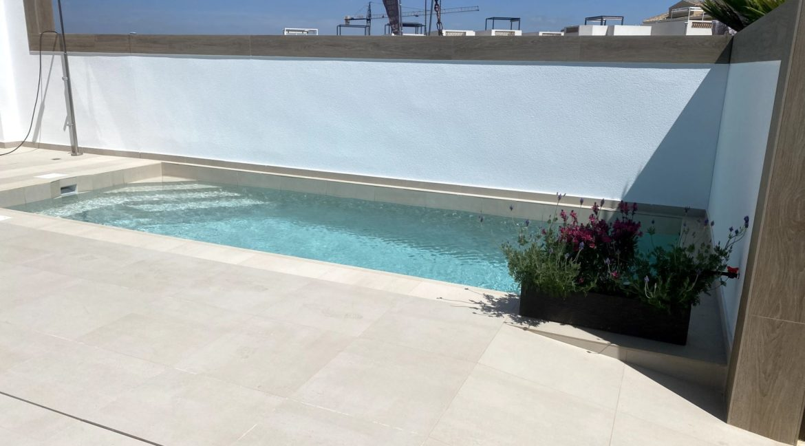 3 Bedrooms New Build Semi-detached with Private Pool For Sale in Benijofar (3)