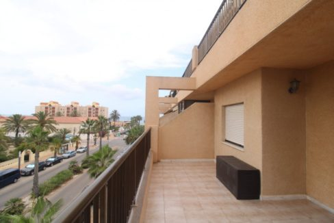 2 Bedrooms Apartment with Big Terraza and Just 100 Meters from The Mata Beach