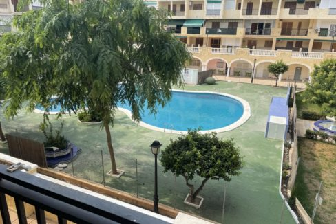 2 Bedrooms Apartment Overlooking the Pool For Sale in La Mata